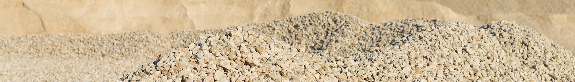 hałdy kamieni